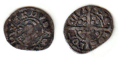 England 1272-1307 Edward I Silver Farthing London Mint