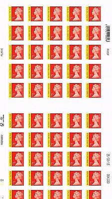 50 x 1st Class Signed For Stamps Genuine Self Adhesive BRAND NEW BY ROYAL MAIL