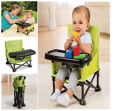 NEW Summer Infant Pop N' Sit Portable Booster Safety Harness Chair Seat FROM USA