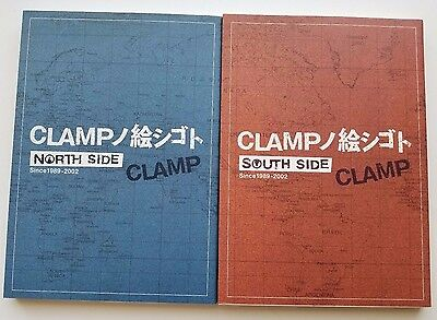 CLAMP North South Side Art Book Illustration Collection 1989-2002 Japan Rare OOP