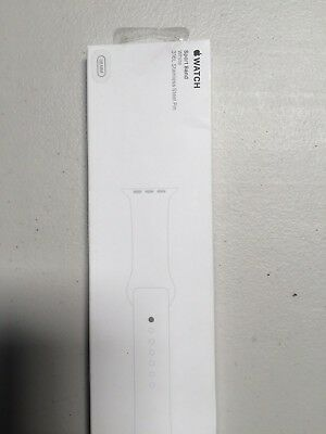 Apple Sport Band for Apple Watch 38mm - White MJ4E2ZM/A