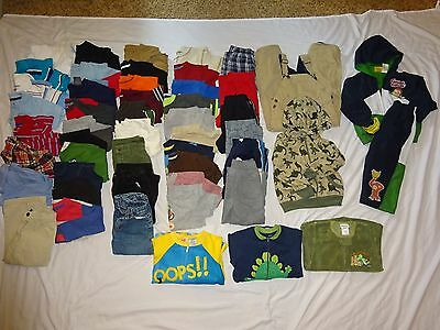 Huge 50 Piece Lot TODDLER 3T BOYS CLOTHES Fall/Winter Outfits! Great Brand Names