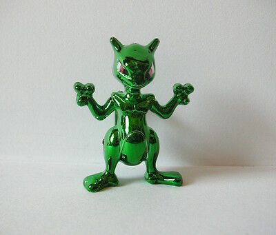 "Pokemon Mewtwo metallic green 2"" action figure toy Japan"