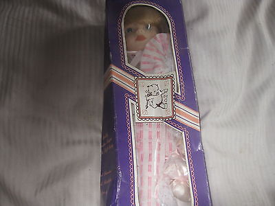"""Porcelain Doll 16"""" The Broadway Collection #D025 New in Box LOOK!"""