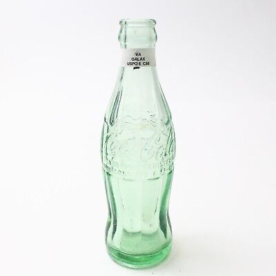 Coca Cola Hobbleskirt Bottle 6 oz Type: Galax, Virginia C92 C56