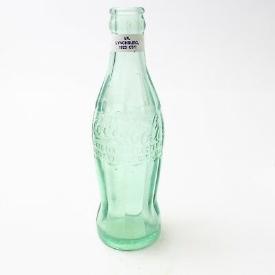 Coca Cola Hobbleskirt Bottle Dec 25, 1923 Type: Lynchburg, Virginia C93 C31