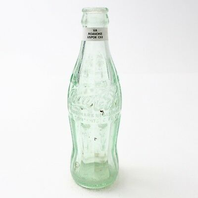 Coca Cola Hobbleskirt Bottle 6 oz Type: Roanoke, Virginia VA C95 C53