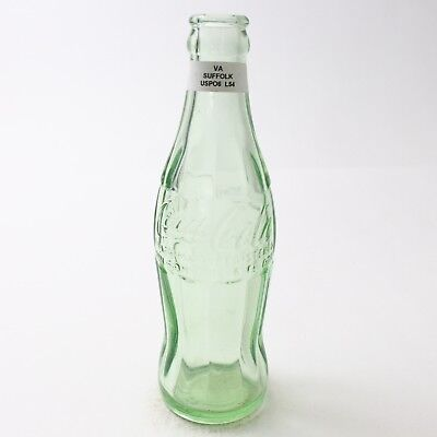 Coca Cola Hobbleskirt Bottle 6 oz Type: Suffolk, Virginia VA C96 L54