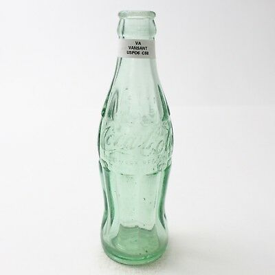 Coca Cola Hobbleskirt Bottle 6 oz Type: Vansant, Virginia VA C96 C58