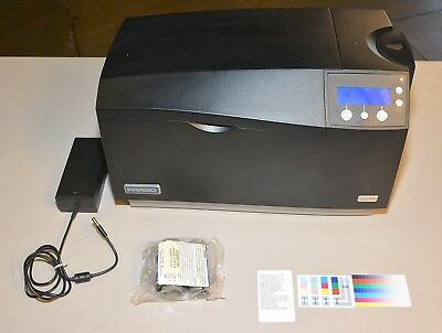 Fargo DTC550 Duplex Color Card Printer Extras NEW O-rings Only 5500 Prints!!