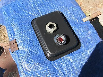 1968 Plymouth - Dodge rear side marker bezel w lens and fastener assembly