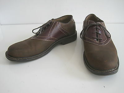 BASS Mens Shoes Size 10.5 M Casual Classic Oxford Eugene Brown
