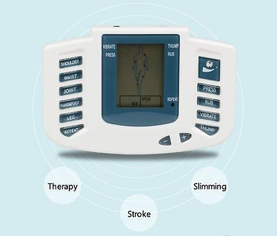 New Electrical Muscle Stimulator Massageador Tens Acupuncture Therapy Machine KF