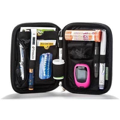 Ezy-Fit Case - Blue Type 1 & Type 2 Diabetes Diabetic Aids