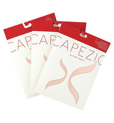 LOT 3 pairs Capezio #1816C Girl's Ultra Soft Transition Tights sz 8-12 Brand New
