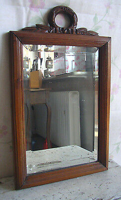 spiegel garderobe jugendstil 1900 frankreich wandspiegel art nouveau mirror eur 99 90. Black Bedroom Furniture Sets. Home Design Ideas