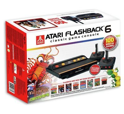 Game console retro atari flashback4 classic game console boxed picclick uk - Atari flashback 3 classic game console ...