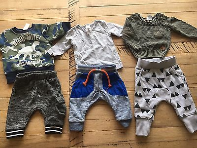 Sz 000 Lot Boys Mixed Clothing Cotton On Etc Jumpers Pants Top