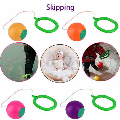 Fitness Single Foot Skipping Game Skip Ball Toy Exercise Equitment