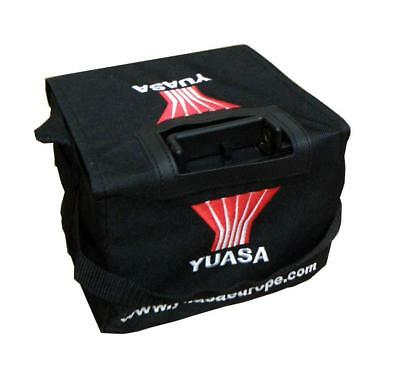 Yuasa 26Ah Golf Trolley Battery with T-Bar Fitment with Battery Bag