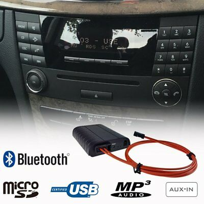 Bluetooth USB SD AUX Adapter Mercedes W251 R171 W164 W209 W211 Audio 20 Comand