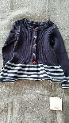New Girls Tea Collection Sweater Size 3