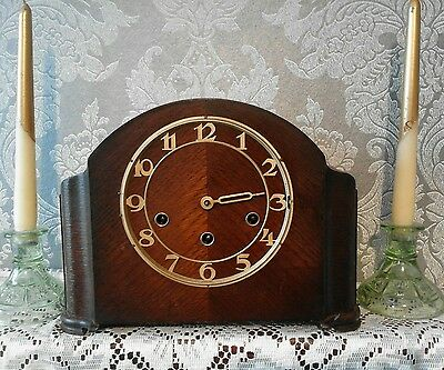 Kienzle Wood Mantle Clock. Approx 1900