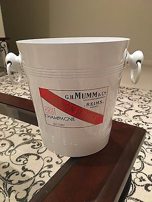 French Champagne Bucket In Good Used Condition.  Cordon Rouge Reims France