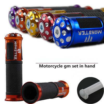 1Pair Motorcycle Modified Handlebars Aluminum Alloy Autobike Grips Vehicle Part
