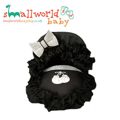 Black Bling Boxing Gloves Baby Car Seat Cover (NEXT DAY DISPATCH)