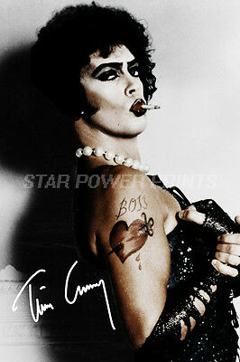 Tim Curry Signed Photo Print Poster - 12 X 8 Inch - A+ Quality