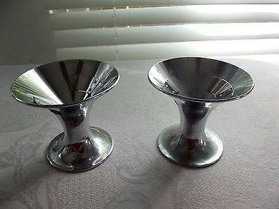 Pair of Vintage Vortex Dishes Holders Dixie Cup Co. No. 8769