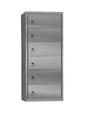 Multideck cabinet Storage compartment 6 Branches In galvanized plasticised sheet