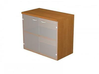 Furniture Library Eco Tempered Glass Doors without lock Cm. 80X44X72H