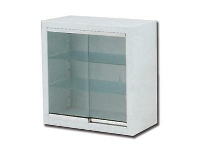 Display Case 2 Doors And 2 Adjustable Shelves With A Key Lock Cm. 60X30X60H