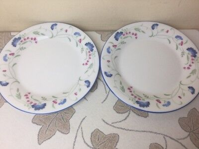 Royal Doulton Expressions Windermere 2 x Side Plates Superb Condition 6.1/2""