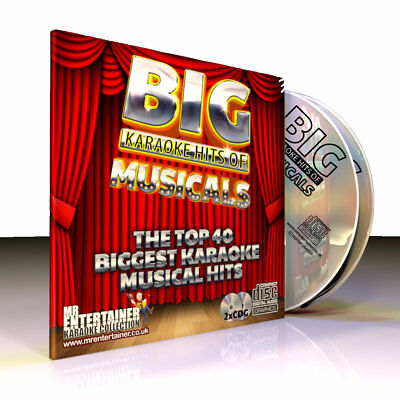 Musicals Songs From The Shows  Big Karaoke Machine Hits