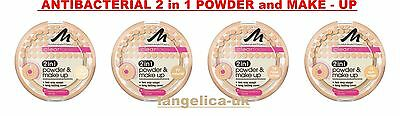 CLEARFACE ANTIBACTERIAL POWDER and MAKE - UP 2 in 1 by Manhattan Cosmetics
