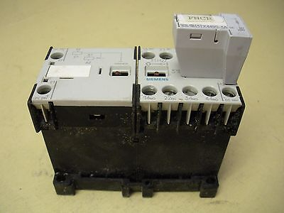 Siemens Contactor , 3TH2731-0BB4 with Siemens Surge Suppressor , 3TX4490-3A