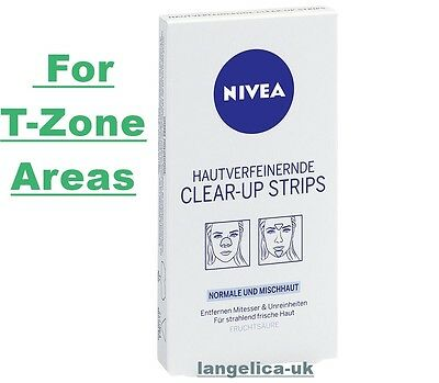 Nivea Visage Clear Up Strips , 1er Pack (4 x Nose, 2 x Chin), For T-Zone Areas