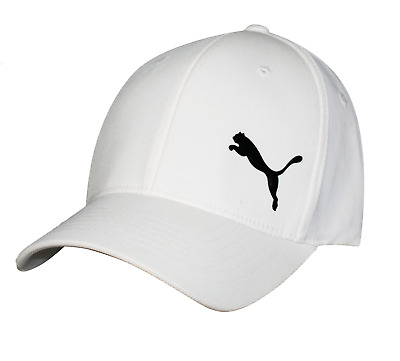 New Puma Performance X Flexifit Golf Hat - White