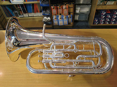 Catelinet CEU-11S Euphonium – B-flat, 4 valve, silver (new, case not original)