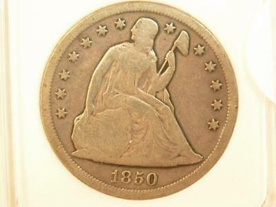 1850 O Seated Liberty Dollar Problem Free Appears Fine