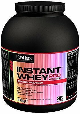 Reflex Nutrition 2.2Kg  Instant Whey Pro All Flavours NO1 Whey Protein Isolate