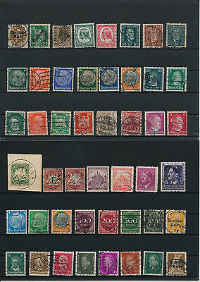 Germany, Deutsches Reich, Nazi, liquidation collection, stamps, Lot,used (LE 44)