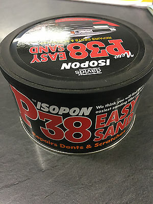 Davids Isopon P38 Easy Sand Car Body Filler Repairs Dents Scratch Repair 250ml