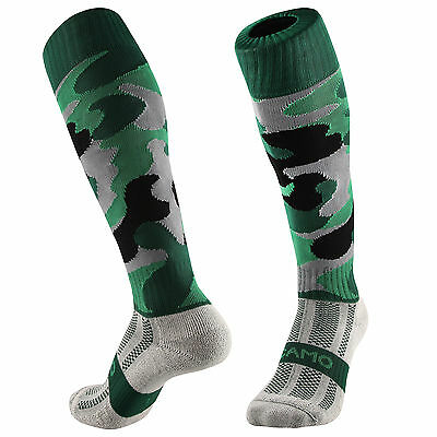 Samson® Camouflage Funky Socks Camo Army Green Rugby Hockey Mens Womens Kids
