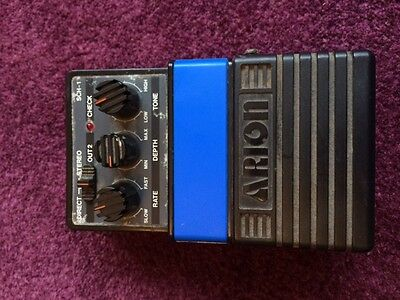 Vintage Arion SCH-1 Made In Japan Analogue Stereo Chorus Guitar effects pedal