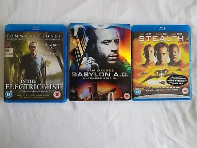Blu Ray Bundle - Action - All Brand New and Sealed