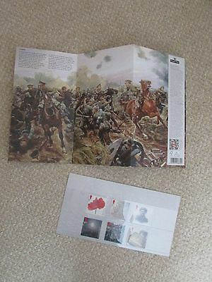 Royal Mail Presentation Pack Stamps - The Great War 1914
